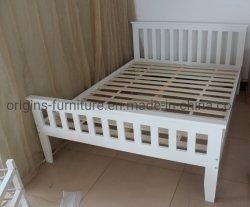 De houten Pijnboom van het Frame van het Bed Witte Stevige voor Volwassenen, Jonge geitjes, Tieners
