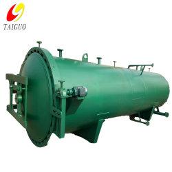 Pressão de vácuo de preservação de madeira do tanque de tratamento Autoclave de madeira