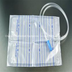 Sacchetto medico di drenaggio dell'urina 2000ml senza presa