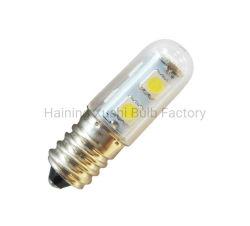 لمبة مصباح ماكينة تغيير غطاء المحرك SMD5050 بقوة 1,5 واط مصباح ضوء ثلاجة LED طراز E14