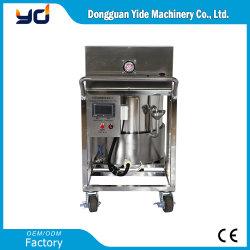 Semi-auto elektrische fles kleine olie vloeibare wax verwarming voor de pour Machine Jar Kaars zeep vullen machine Prijs Trolley Type Warm