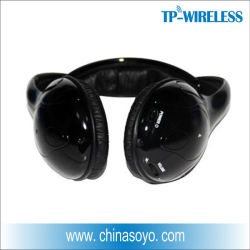 Casque sans fil 2.4G et l'Ecouteur pour partie en mode silencieux, Disco