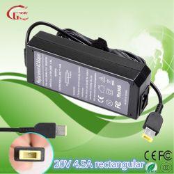 20V 4.5A Embout USB Adaptateur secteur AC DC Alimentation du chargeur universel pour ordinateur portable