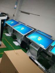 解決の縦か水平の表示画面のビデオ接触LCDを広告する床の立つ斜め表