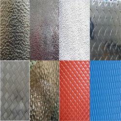 Folha de alumínio de estuque coloridos para decoração de revestimentos betumados 3003