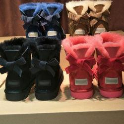 Новые поступления обуви из натуральной кожи зимой мода женщин обувь с классическими Bowknot оптовой дизайнер обуви