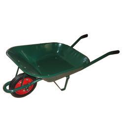 Le béton à bas prix de l'acier, de la construction de capacité de charge du bac de roue simple brouette Trolley WB6400