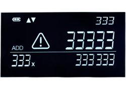 Ângulo visual panorâmico High-End personalizado Va Dígito Display painel LCD branca de segmento