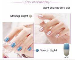 Cambio Color. Esmalte de Uñas de Gel. Gel Cambia de Color