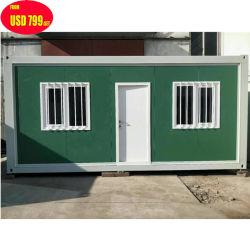 Prefabbricato/prefabbricato struttura in acciaio metallico Flat Pack portatile stoccaggio modulare mobile Container Appartamento/magazzino//Ufficio/residenziale/Hotel/ Casa/Casa