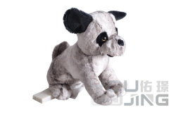Plüsch-Spielzeug-elektrischer Haustier-Hund, der Tier-bewegliche weiche Puppe anfüllt