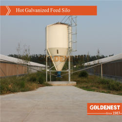 La tolva de alimentación de foso/acero silo