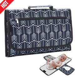 De alta calidad impermeable bebé cambiando el cambio de pañal portátil Pad Pad para mamás, papás y bebés