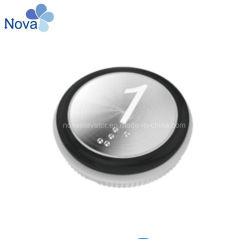 De StandaardDrukknop van de nova met Braille of zonder Braille