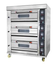 Astar Commercial Gas Deck Oven 3 Deck 6 Tabletts Backen Backofen Pizzaofen