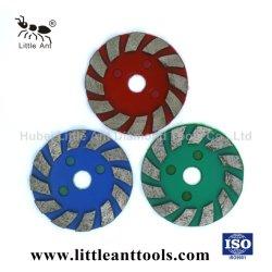 أدوات طحن الماس الصينية للجرانيت الخرساني والرخام المصنّع