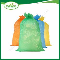 Eco Friendly biodégradable de couleur différente de l'emballage sac à ordures en plastique