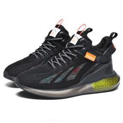 남성용 반사 디자인 운동화 패션 아웃도어 스포츠 보온성 신발 미끄러짐 방지 신발