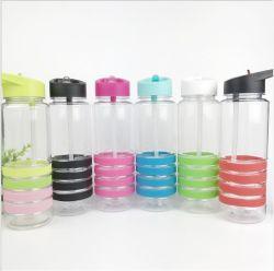 Оптовая торговля продуктами бутылки бисфенол-А специализированные школы пластиковые спортивные бутылка воды с помощью проводов колпака соломы