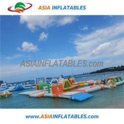 0.9mm PVC防水シート巨大で膨脹可能な水公園の運動場のゲームのおもちゃ