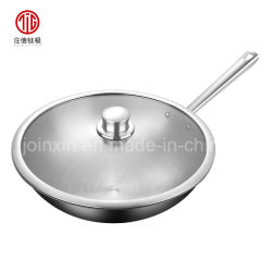 Titanio, aleaciones de aluminio de China Wok sartén para freír anti-adherente