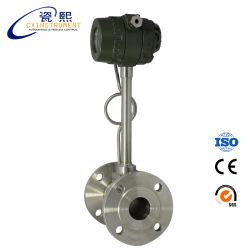 Gás CO2 Medidor de Caudal de ar debitómetro de hidrogénio de vórtice analógico com LED