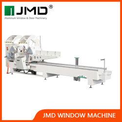 CNC 알루미늄/목재/UPVC 절단 기계/중국 알루미늄 프로파일 절단 톱 / SGS/Jmd 이중 헤드 커터가 있는 윈도우 절단 기계