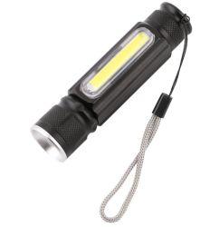 Аккумулятор USB тактических фонарик, светодиодный светильник из алюминия с помощью встроенного в ССБ габаритного света и магнит размера 18650 аккумуляторная батарея для кемпинга, пеший туризм, при ежедневном использовании