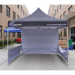 3[إكس][3م] ترقية صنع وفقا لطلب الزّبون يتاجر عرض خارجيّة ظلة [بوبوب] ألومنيوم يطوي خيمة