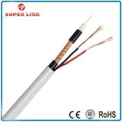Superlink Câble coaxial RG6/RG59/RG11, câble coaxial RG59/RG6 RG11 Câble LAN, le câblage Cat5e/Câble à fibre optique