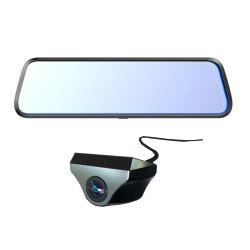 2 canales Full HD 1080P, Alquiler de caja negra, el espejo retrovisor DVR
