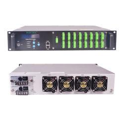 FTTH 16 ports CATV EDFA 1550nm amplificateur optique avec WDM