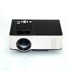 Compatible con 1080p HDMI VGA USB 1500 lumens mini proyector de vídeo LCD LED Projecto