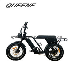 Queene/Super Chopper 73 Bicicleta eléctrica Cruiser neumático Fat 750 W/48V 500W