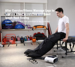 Körperpflege Air Compression Bein-Massagegerät Fußanwendung Massagegerät AT Zu Hause
