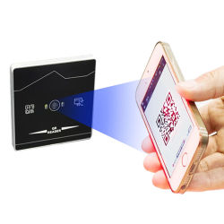 قارئ التحكم في الوصول إلى رمز QR ببطاقة RFID الخارجية TCP/IP