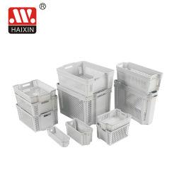 Plastic Bakken van de Doos van de Opslag van Hotsale de Plastic met Handvatten voor de Opslag van het Huishouden
