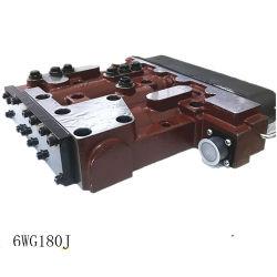 오리지널 휠 로더 전기 유압식 시프팅 조정자 XCMG용 예비 부품 휠 로더 Lw500K