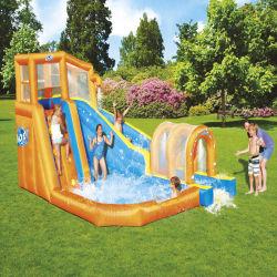 Precios baratos inflables grandes niños saltando hinchables castillo hinchable tobogán de agua Parque acuático combinado