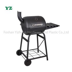 Griglia per barbecue portatile per trolley al carbone per fumatori