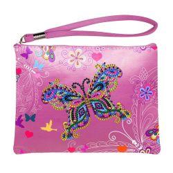 DIY 5D-Diamond окраска сумки через плечо специальные сверла в форме креста сшить сумку для девочек женщин судов