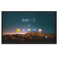 """einteiliger PC 65 """" 75 """" 85 """" 4K Touch Screen interaktives Whiteboard für Klassenzimmer"""