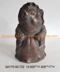 Tier Skulptur Kunstharz Handwerk Ornamente Luxus Heim Desktop Dekoration Geschenk Igel Mrs