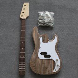Commerce de gros kit DIY personnalisé inachevé guitares Basse électrique pour la vente