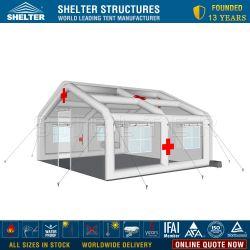 De opblaasbare Medische Hulp van de Ramp/Noodsituatie/de Tent van het Ziekenhuis van het Gebied