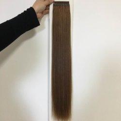Телефон с помощью популярных 10A к категории человеческого волоса Реми волосы Virgin 100g 6# цвета 22дюйма резьбы Knotted хлопка удлинитель волос