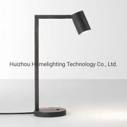 Stellten justierbarer Tisch des Nickel-Jlt-4582 des Kopf-LED u. Fußboden-Lampe für Hotelzimmer-Beleuchtung-Vorrichtung ein