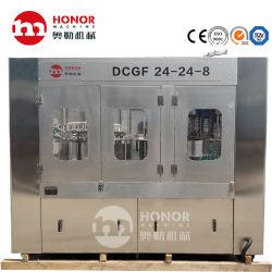 Il sistema di controllo del calcolatore è messo a punto per la linea di produzione della bevanda del gas