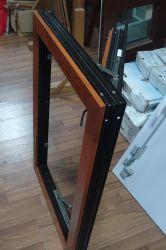 Горизонтальный План Wood-Clad алюминиевых окон (KDSWA052)