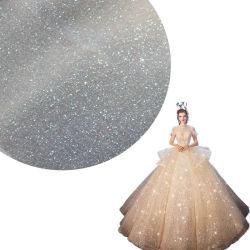 ダスティング20dのジャカードナイロン浜のLoungerのメッシュ生地はウェディングドレスのための材料に蹄鉄を打つ